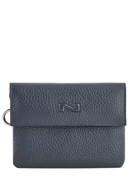 Portefeuille Leather Nathan baume Red original n 100155N