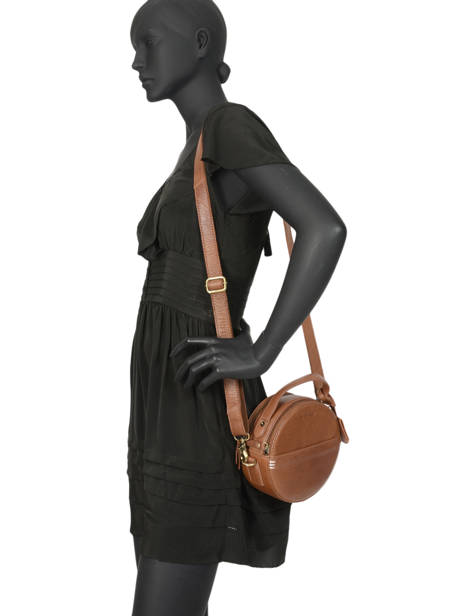 Sac Bandoulière Craft Caily Cuir Burkely Marron craft caily 546647 vue secondaire 2