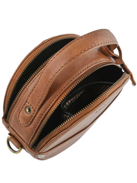 Sac Bandoulière Craft Caily Cuir Burkely Marron craft caily 546647 vue secondaire 3