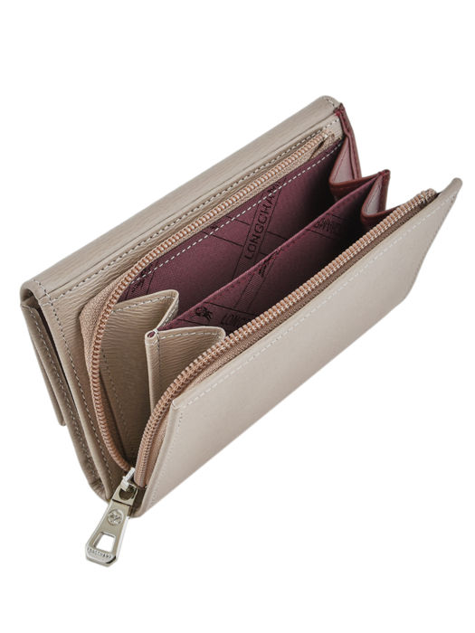 Longchamp Roseau Portefeuilles Beige