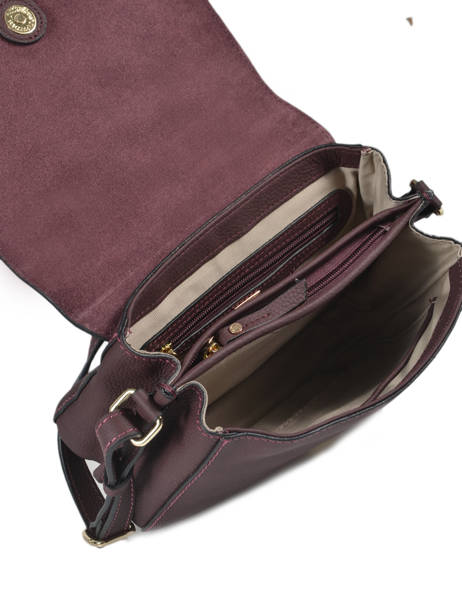 Crossbody Bag Tradition Leather Etrier Violet tradition EHER23 other view 4