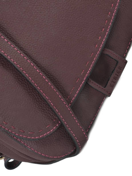 Crossbody Bag Tradition Leather Etrier Violet tradition EHER23 other view 1
