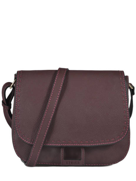 Crossbody Bag Tradition Leather Etrier Violet tradition EHER23