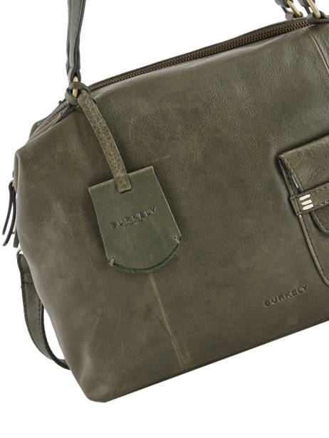 Shopper Craft Caily Leather Burkely Green craft caily 546247 other view 1