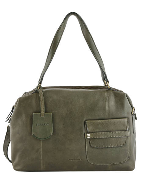 Shopper Craft Caily Leather Burkely Green craft caily 546247