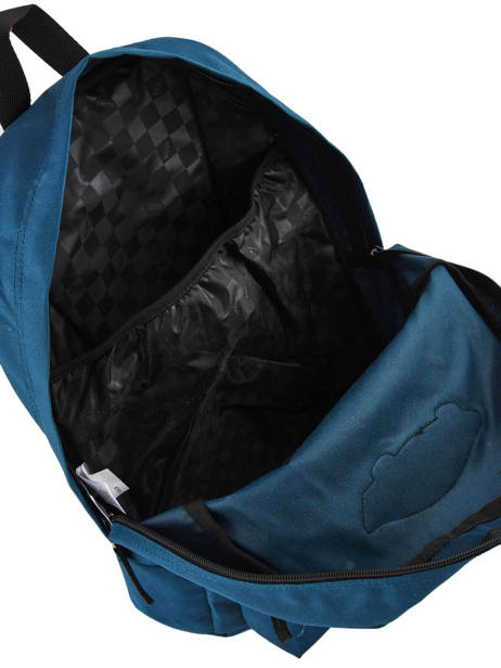 Sac à Dos 1 Compartiment + Pc 15'' Vans Noir backpack men VN0A3UI6 vue secondaire 4