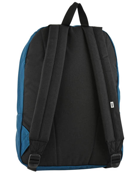 Sac à Dos 1 Compartiment + Pc 15'' Vans Noir backpack men VN0A3UI6 vue secondaire 3