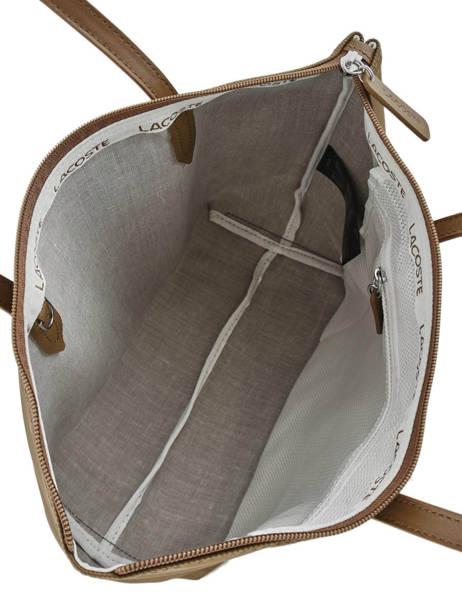 Sac Porté épaule L.12.12 Concept Lacoste Noir l.12.12 concept NF2037PO vue secondaire 4