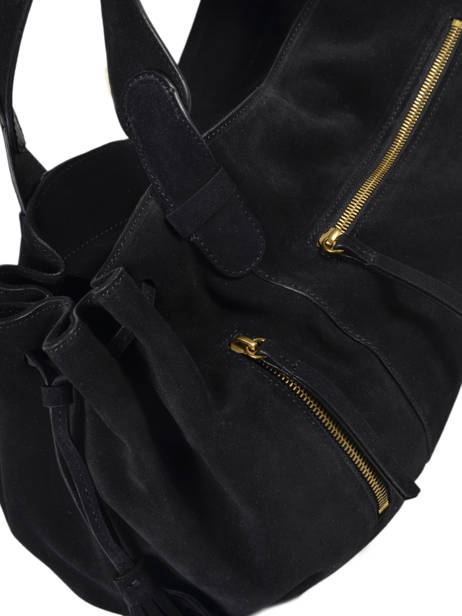 Sac Porte Epaule Folk Gerard darel Black folk DKS03407 other view 1