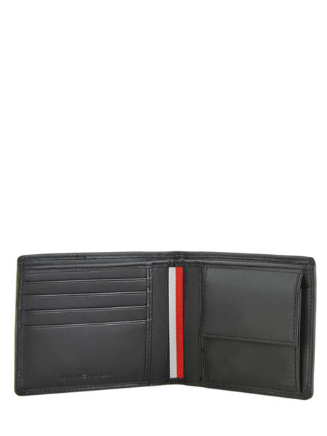 Wallet Leather Tommy hilfiger Black business AM05066 other view 1