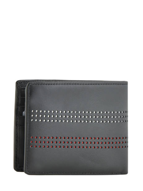 Wallet Leather Tommy hilfiger Black business AM05066 other view 2