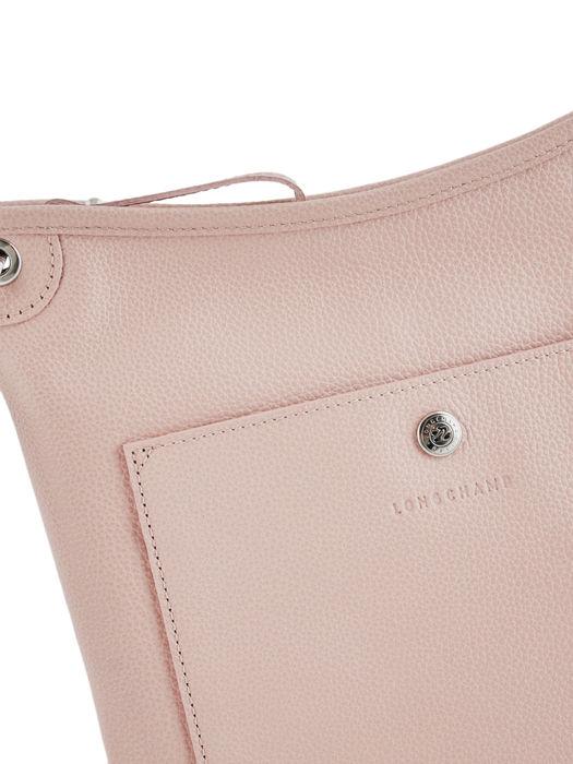 Longchamp Le foulonné Sacs porté travers Rose