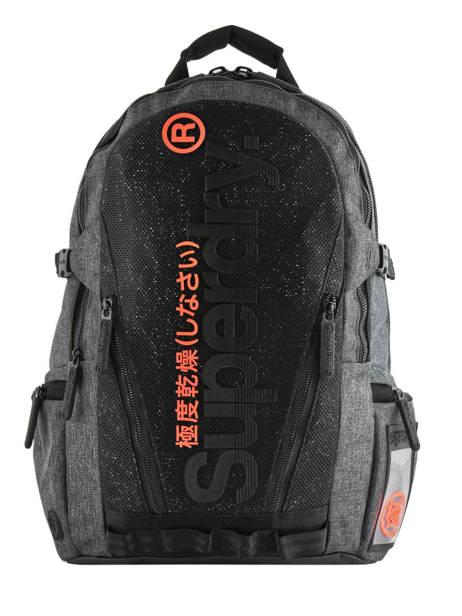 Sac à Dos 2 Compartiments + Pc 15'' Superdry Gris backpack men M9100010