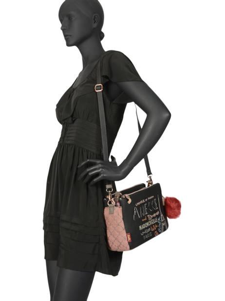 Sac Bandoulière Couture Anekke Noir couture 29882-75 vue secondaire 2