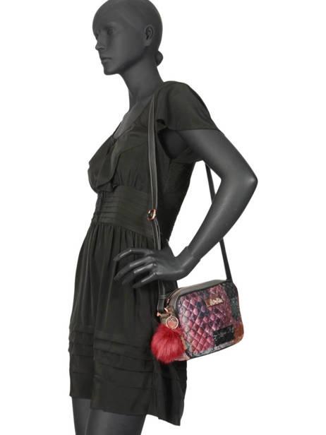 Sac Bandoulière Couture Anekke Rose couture 29882-14 vue secondaire 2