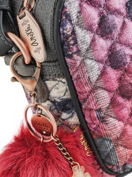 Sac Bandoulière Couture Anekke Rose couture 29882-14 vue secondaire 1