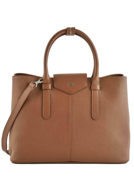 Shopping Bag Les Marquises Leather Nathan baume Brown les marquises N1720104