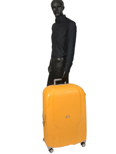 Hardside Luggage Clavel Delsey Orange clavel 3845821 other view 3