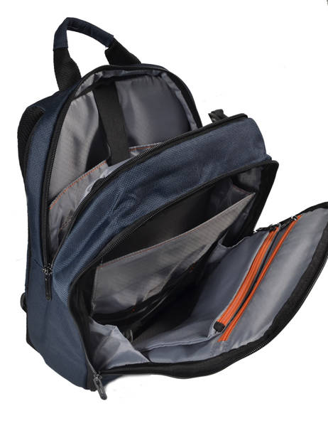 Backpack 15'' Laptop Samsonite Blue network 3 CC8005 other view 4