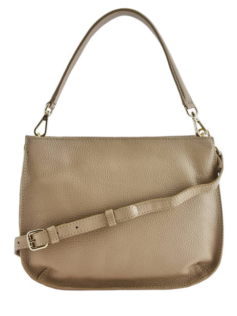Leather Caviar Crossbody Bag Crinkles Brown 80945 other view 3