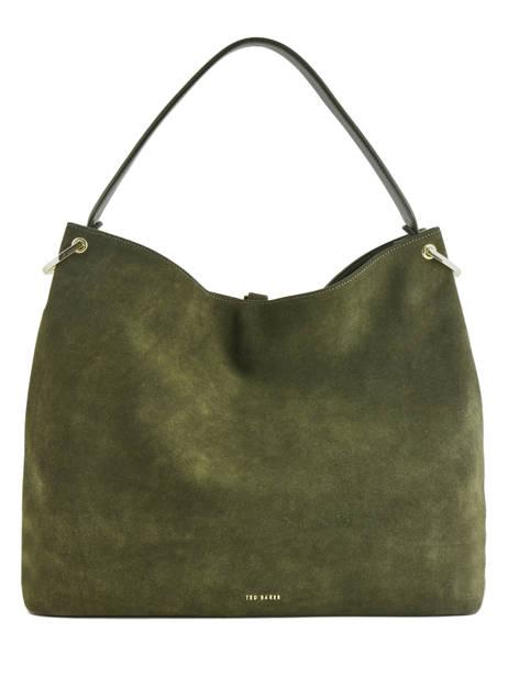 Sac à Main Demmi Cuir Ted baker Vert fashion leather DEMMI vue secondaire 3