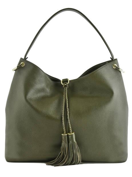 Sac à Main Demmi Cuir Ted baker Vert fashion leather DEMMI