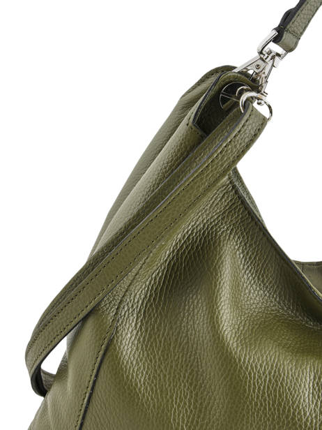 Hobo Bag  Leather Milano Green CA1605 other view 1