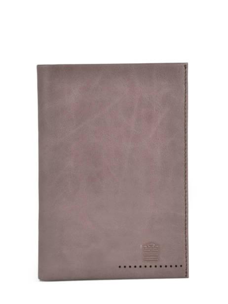 Leather Edge Wallet Serge blanco Brown edge EDG21021