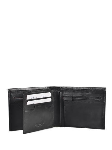 Leather Edge Wallet Serge blanco Black edge EDG21044 other view 1