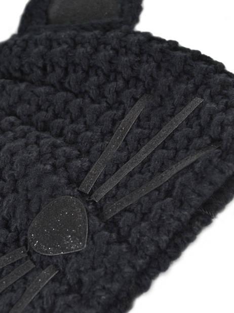 Hat K Choupette Karl lagerfeld Black minaudieres 96KW3402 other view 1