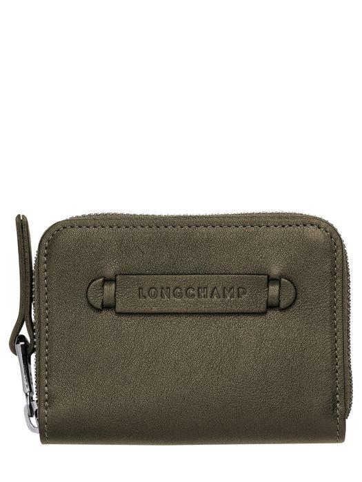 Longchamp Longchamp 3d Bill case / card case Green