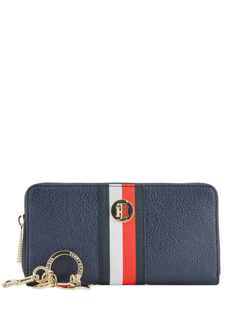 Gift Box Wallet And Keychain Tommy hilfiger Blue th core AW07600 other view 1