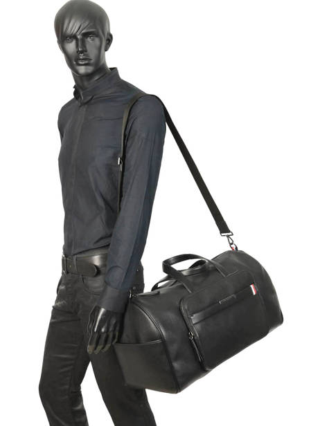 Cabin Duffle Downtown Tommy hilfiger Black downtown AM05240 other view 2