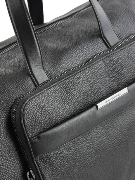 Cabin Duffle Downtown Tommy hilfiger Black downtown AM05240 other view 1