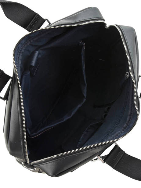 Briefcase 1 Compartment + 15'' Pc Tommy hilfiger Black th metropolitan - 0AM05439 other view 4
