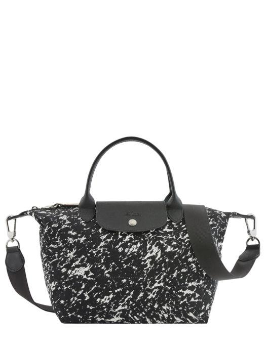 Longchamp Le pliage appaloosa Sacs porté main Noir