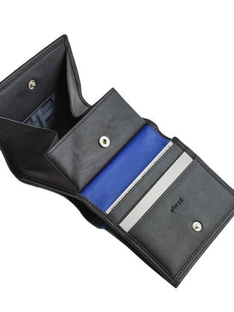 Porte-monnaie Martin Cuir Le tanneur Noir martin TMIN3121 vue secondaire 1