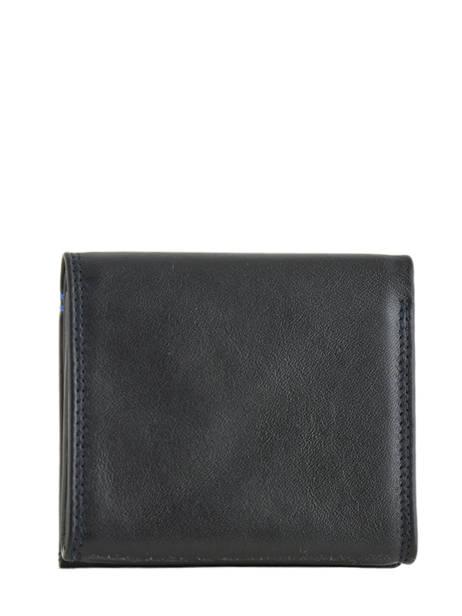 Porte-monnaie Martin Cuir Le tanneur Noir martin TMIN3121 vue secondaire 2