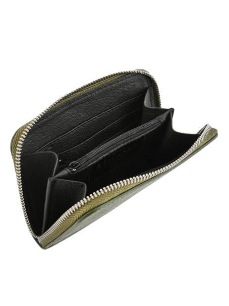 Portefeuille Caviar Cuir Milano Vert caviar CA19043 vue secondaire 1