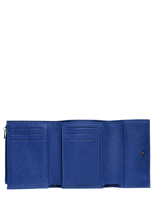 Longchamp Roseau essential Portefeuilles Bleu