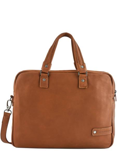 Large Leather Business Bag Bart Arthur et aston Brown bart 1978-02