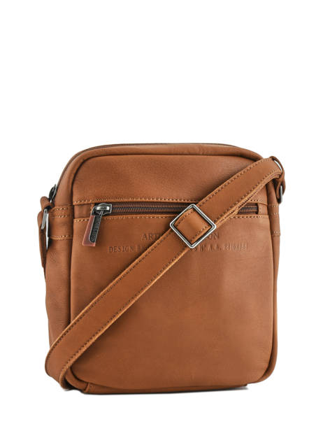Medium Leather Crossbody Bag Bart Arthur et aston Brown bart 1978-05 other view 2