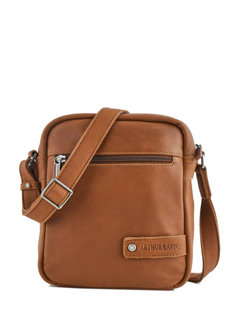 Medium Leather Crossbody Bag Bart Arthur et aston Brown bart 1978-05