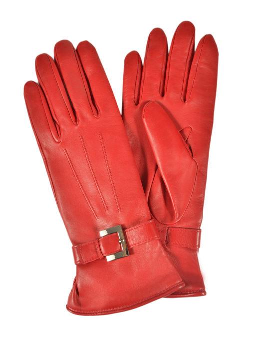 Longchamp Gants homme Gloves Red