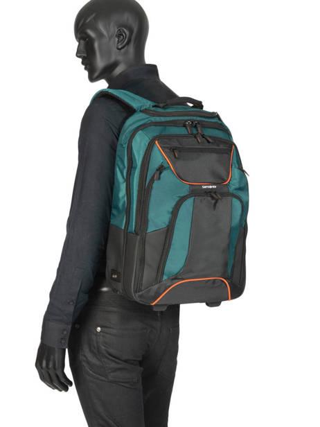 Wheeled Backpack Samsonite Green kleur CK4005 other view 4