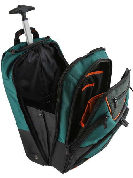 Wheeled Backpack Samsonite Green kleur CK4005 other view 6