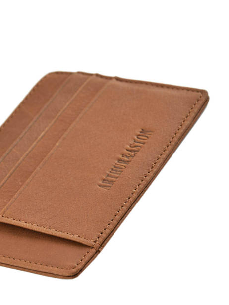 Leather Bart Card Holder Arthur et aston Brown bart 1978-147 other view 2