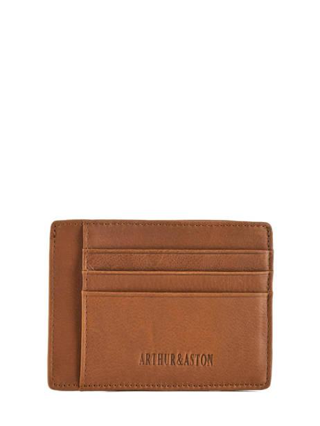 Leather Bart Card Holder Arthur et aston Brown bart 1978-147