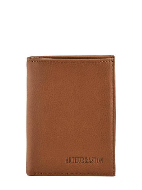 Leather Bart Wallet Arthur et aston Brown bart 1978-127
