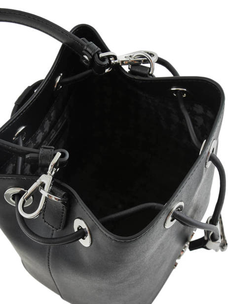 Leather Bucket Bag K Ikonik Karl lagerfeld Black ikonik 201W3095 other view 4